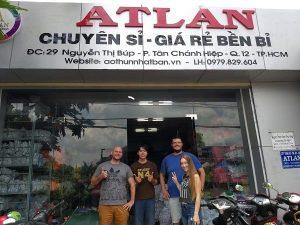 Xưởng may áo thun Polo sỉ - Atlan