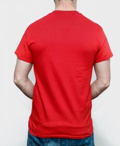 áo thun trơn đỏ đậm