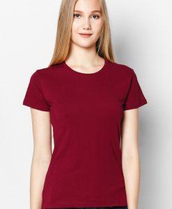 áo thun cotton 100% màu nâu nữ