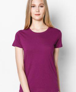 áo thun 100% nữ màu tím