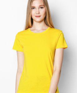Áo thun 100% cotton màu Vàng