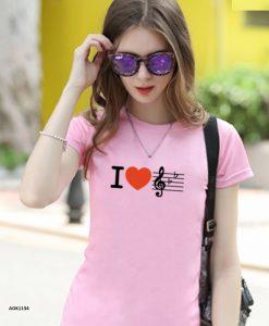 áo thun hồng đẹp