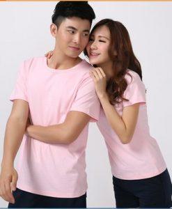 áo hồng phấn đôi