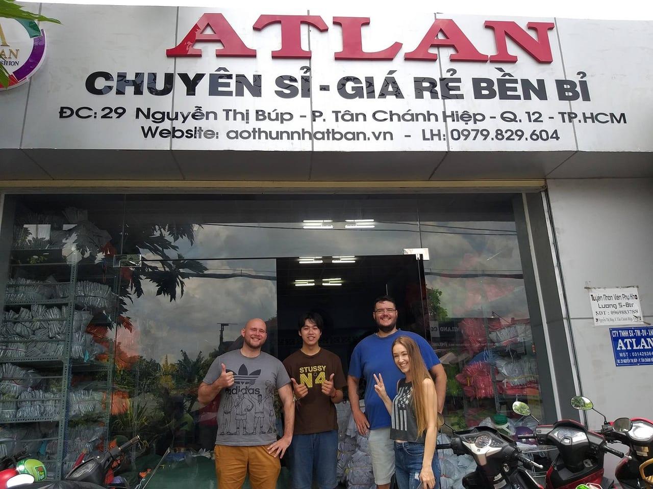 Atlan - chuyên sỉ áo thun - giá rẻ bền bỉ