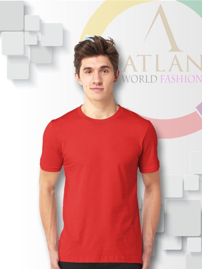Áo trun trơn nam màu đỏ