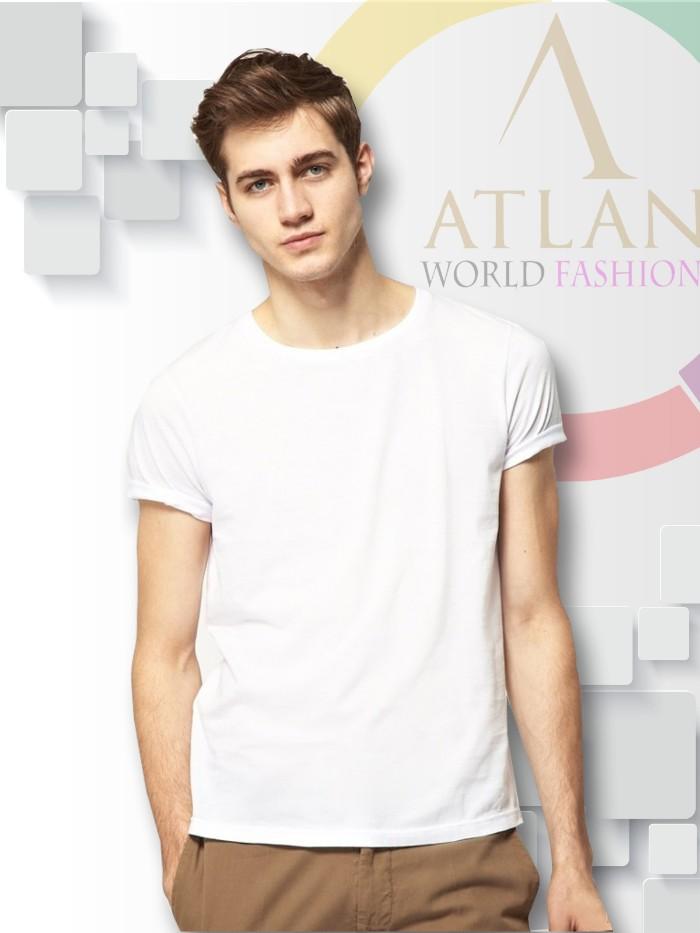 Áo trun trơn nam màu trắng