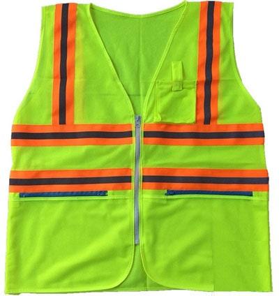 áo phản quang có túi