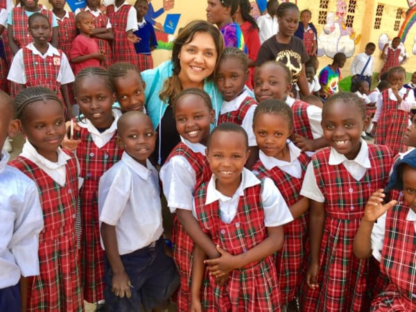 Học sinh Kenya