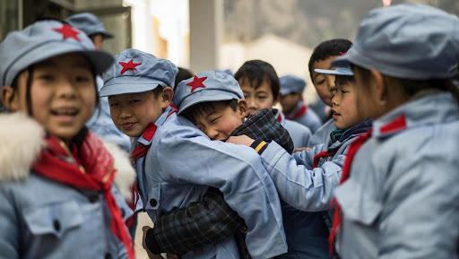 Học sinh tiểu học ở Bắc Xuyên