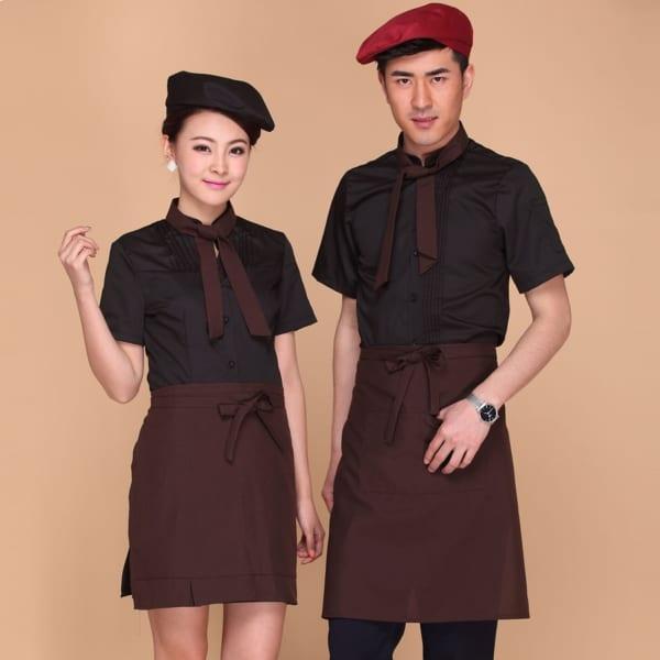 Bộ đồng phục dành cho quán cafe