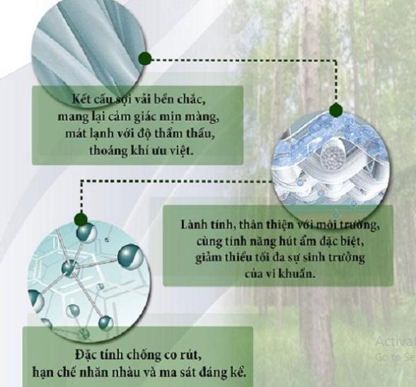 Cách bảo quản vải tencel