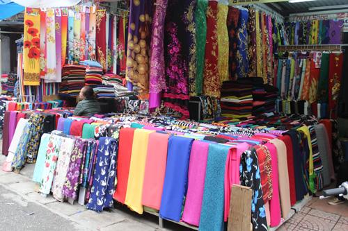 Chợ vải phú thọ hòa