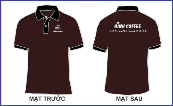 Mẫu đồng phục đỉnh Coffee