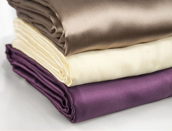 Vải lụa sợi tơ tằm