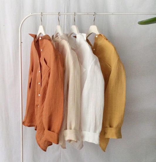 Vải thô may áo nữ