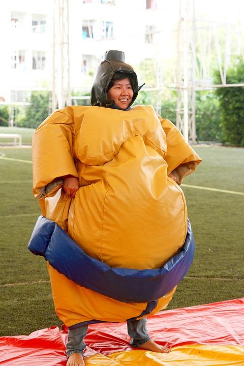 quần áo sumo làm từ Foam