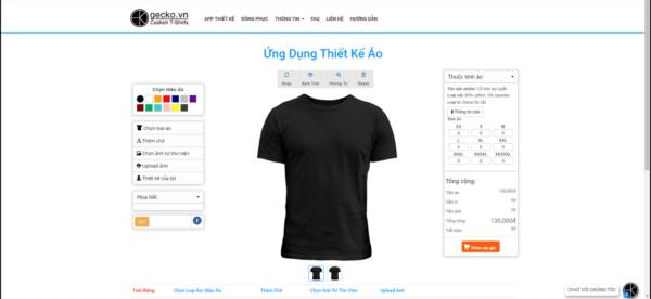 thiết kế áo thun phần mềm Gecko