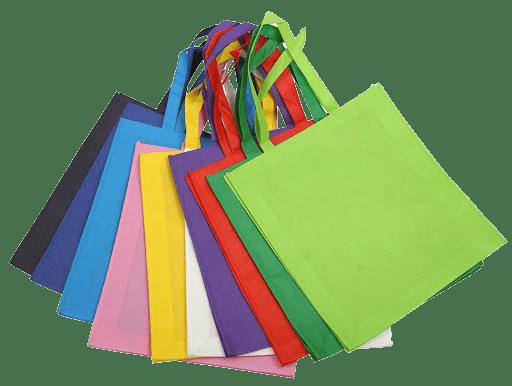 túi xách làm từ vải không dệt