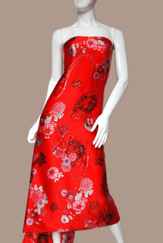 vải muslin tơ tằm
