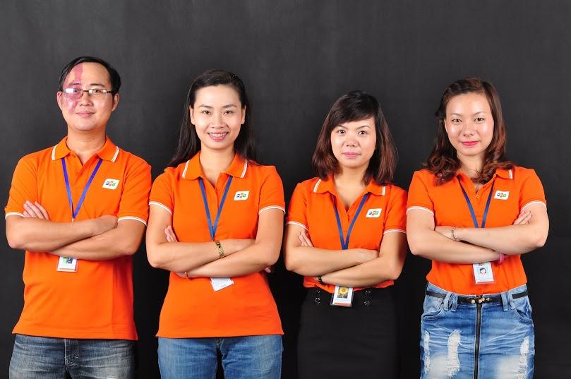 Áo đồng phục công ty FPT