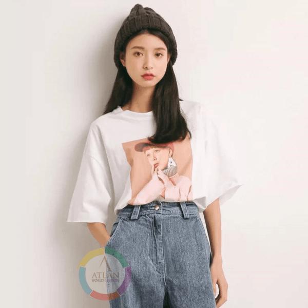 Áo thun dành cho nữ chuẩn size