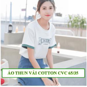 áo thun vải cotton 65_35
