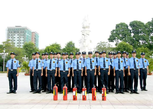 Công ty sản xuất đồng phục bảo vệ uy tín