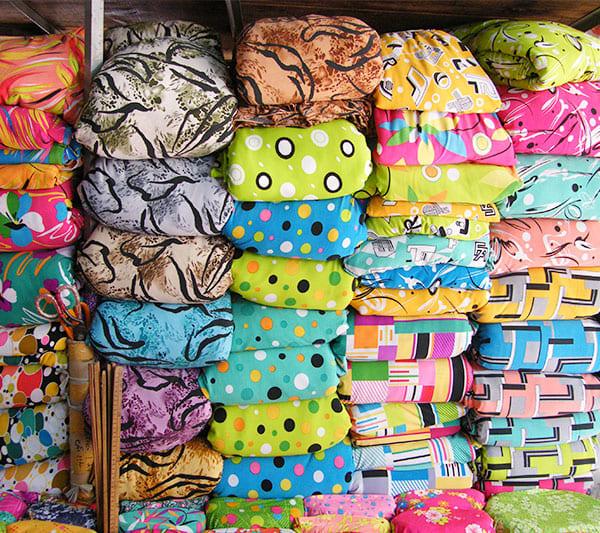 Mua vải thun lạnh ở chợ vải quận 5