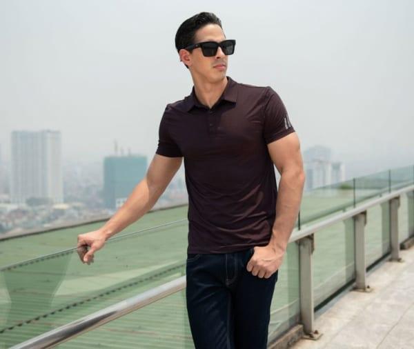 Phối quần Jean với Polo T-Shirt