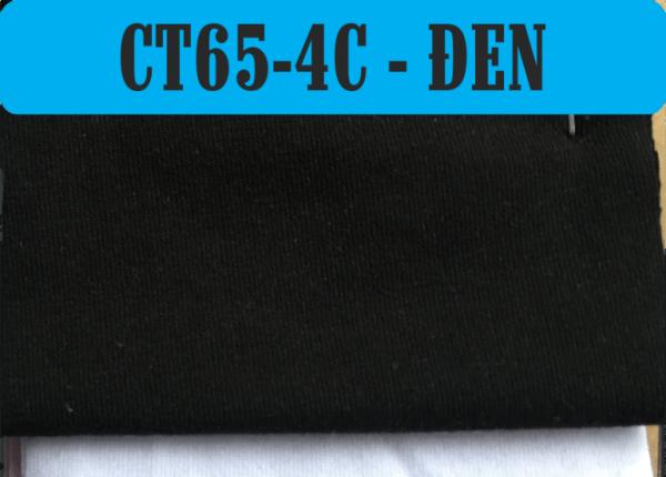 Vải CVC màu đen