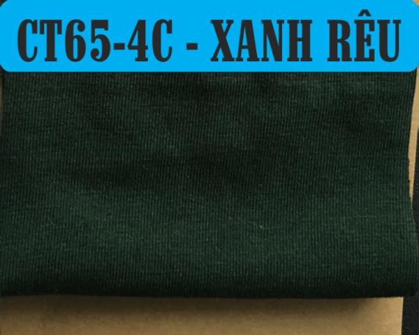 Vải CVC màu xanh rêu