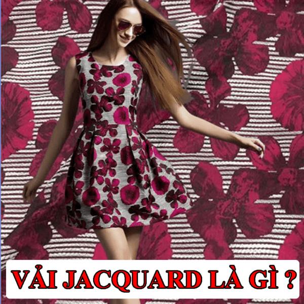 Vải sợi Jacquard