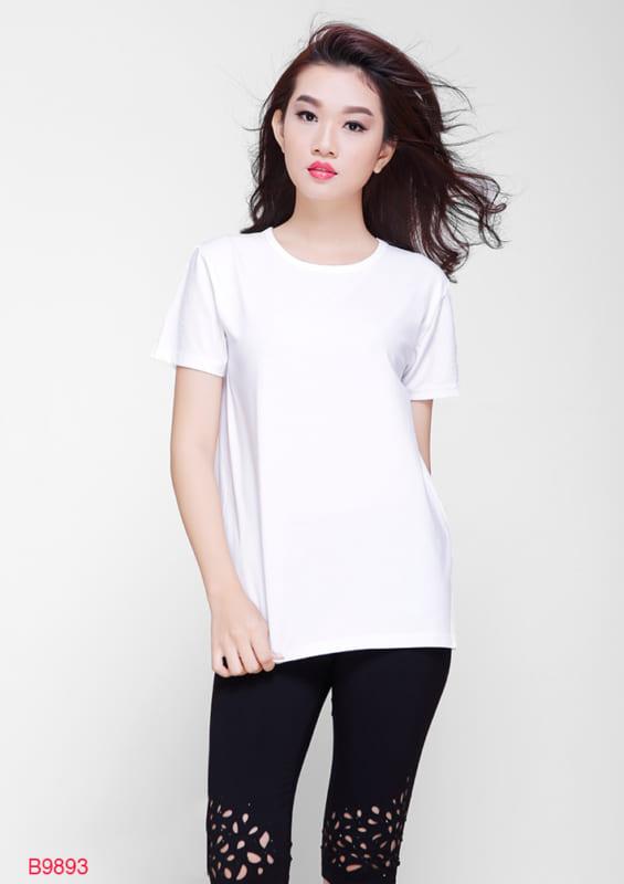Áo phông trắng trơn