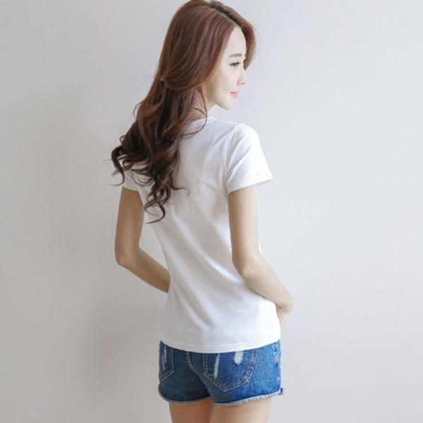 Đặc điểm của áo thun trắng
