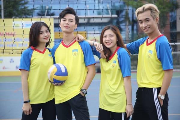 Đồng phục áo thể thao cho sinh viên
