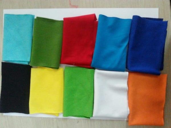 Các loại vải thun PE
