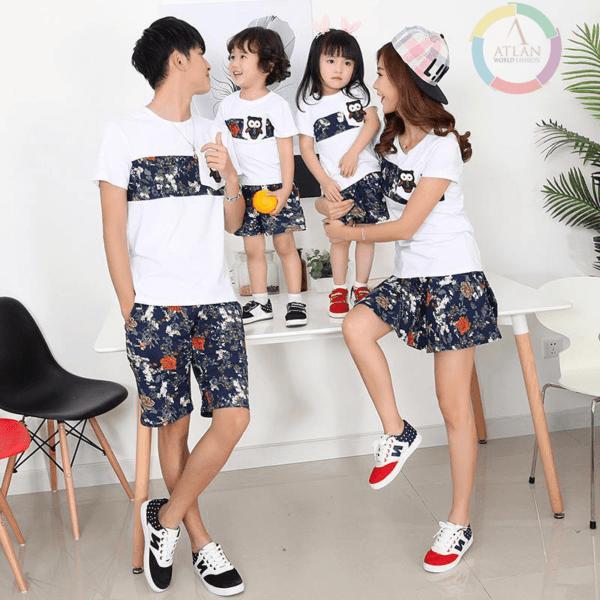 Mẫu áo đồng phục dành cho gia đình