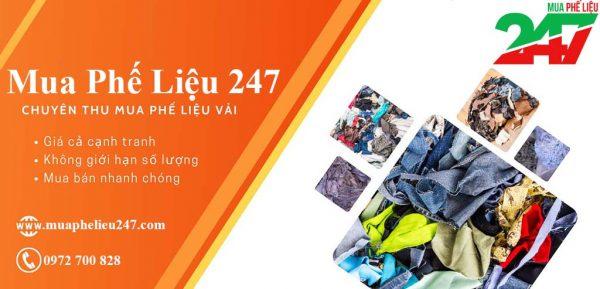 Thu mua phế liệu vải vụn giá cao TPHCM