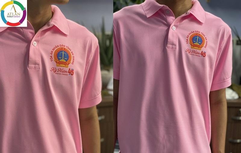 Đặt may áo thun đồng phục số lượng ít tại TPHCM